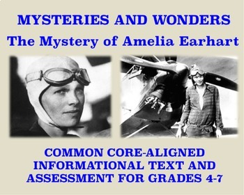Mysteries and Wonders Passage and Assessment #5: The Myste
