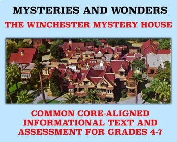 Mysteries and Wonders Passage and Assessment #17: The Winc