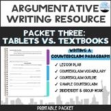 CC Argumentative Essay Packet #4: Writing a Counterclaim P