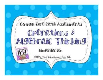 CC Math Assessments - Operations & Algebraic Thinking for