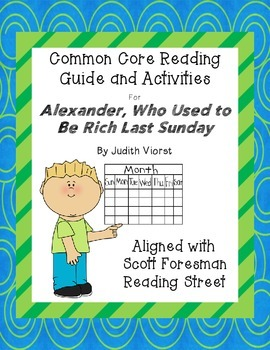 Alexander, Who Used to Be Rich Last Sunday- CC Reading Gui