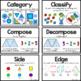 CC Vocab Cards - 1st Grade - Math - Geometry