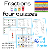 Fractions Quiz (four)