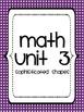 CCGPS Teacher Binder Covers - Math Units