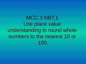 CCGPS Third Grade Math Standards