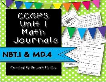 CCGPS Unit 1 Math Journals