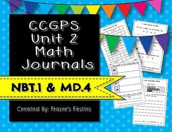 CCGPS Unit 2 Math Journals