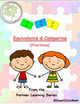 CCSS 3.NF.3 Equivalence and Comparing- Four Activities