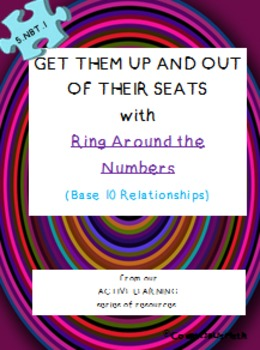 CCSS 5.NBT.1 Ring Around Numbers (Base 10 Relationships)