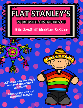 CCSS Aligned: Flat Stanley's Worldwide Adventures #5 31 Pa
