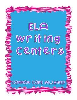 5th Grade ELA Writing Centers - CCSS Aligned
