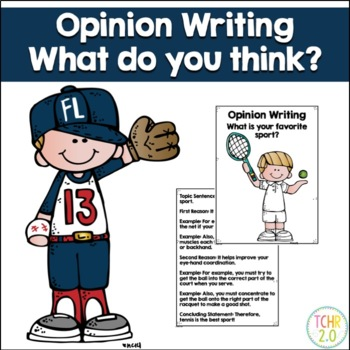 Opinion Writing Prompt Favorite Sport