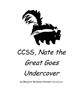 CCSS Chapter Book Nate the Great Goes Undercover