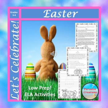 """CCSS """"EASTER"""" BUNDLE TEXT-BASED WRITING ASSIGNMENTS"""