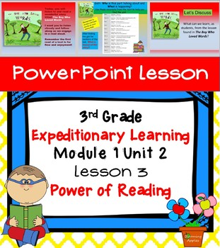 Engage NY Expeditionary Learning 3rd grade Module 1 Unit 2