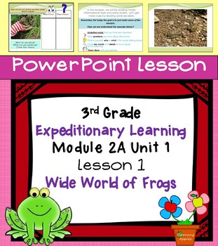 Engage NYExpeditionary Learning  3rd grade Module 2A Unit