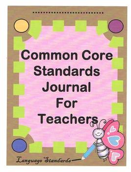 CCSS: Language Journal