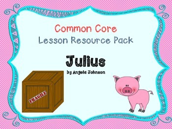 CCSS Lesson Resource Pack for Julius