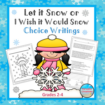 "CCSS ""Let it Snow or I Wish it Would Snow Here"" TEXT-BASED"