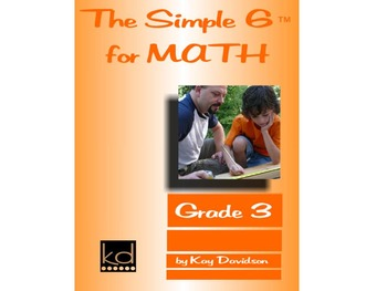 CCSS Math: The Simple 6 for Math Grade 3