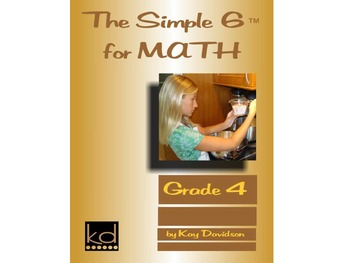 CCSS Math: The Simple 6 for Math Grade 4