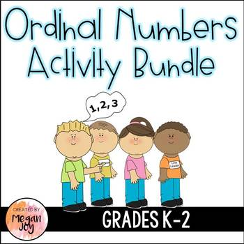 Ordinal Numbers Activity Bundle