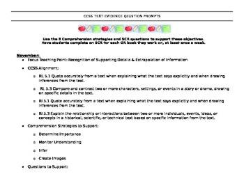 CCSS Question Prompts: 5th Grade