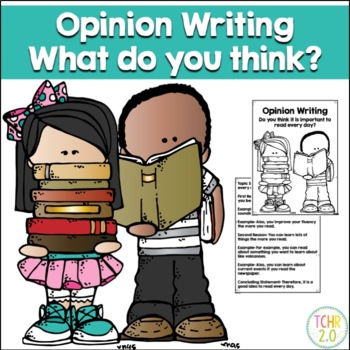 Opinion Writing Prompt Read Every Day