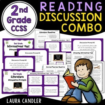 Reading Discussion Combo - 2nd Grade CCSS