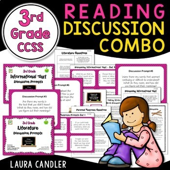 Reading Discussion Combo - 3rd Grade CCSS