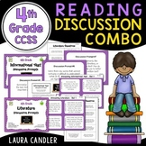 Reading Discussion Combo - 4th Grade CCSS