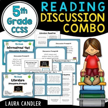 Reading Discussion Combo - 5th Grade CCSS