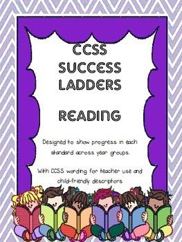 CCSS Reading Success Ladders Bundle