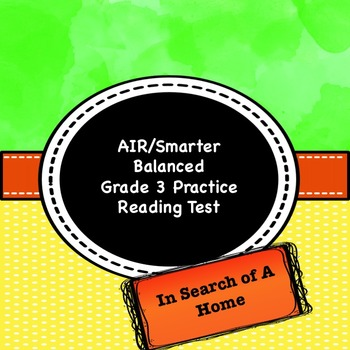 Grade 3 CCSS Reading Test Practice Assessment 2