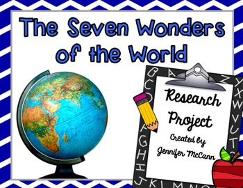 CCSS Research & Informational Writing Project (Topic: 7 Wo