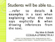 CCSS SWBAT Learning Goals Posters Grade 4 Reading: Informa