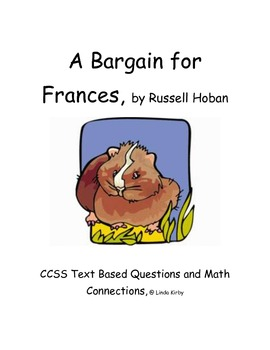 CCSS Text Based Questions & Math Connections, A Bargain fo