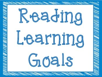 CCSS Third Grade Reading Learning Goals Super Hero Theme
