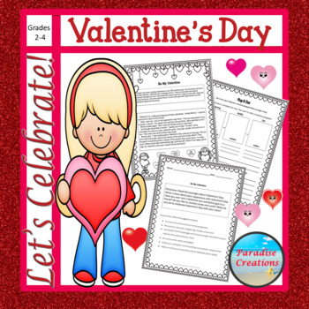 """CCSS """"VALENTINE'S DAY"""" TEXT-BASED WRITING ASSIGNMENT"""