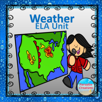 "CCSS ""WEATHER"" TEXT-BASED WRITING ASSIGNMENT"