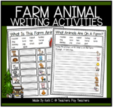 Farm Unit- Writing Information, Opinion and Narratives- Gr