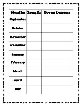CCSS Year Calendar