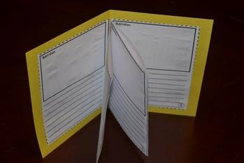 CCSS aligned RI.2.3 Series of Events Accordion Booklet tem