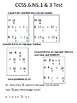 CCSS.6.NS.1 and NS.3 TEST 2