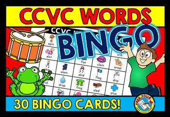 CCVC ACTIVITIES: CCVC WORDS BINGO GAME FOR WHOLE CLASS: CC