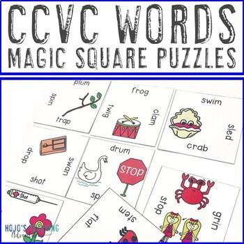 CCVC Words Literacy Center Games