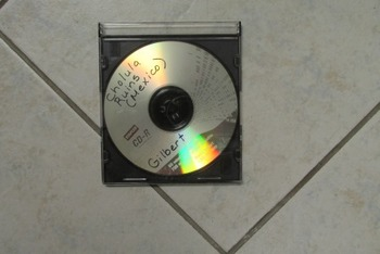 CD of the Cholula Ruins in Mexico