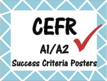 CEFR Success Criteria