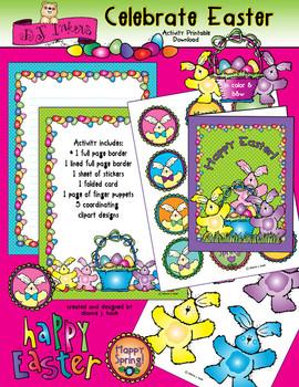 Celebrate Easter Clip Art & Printables