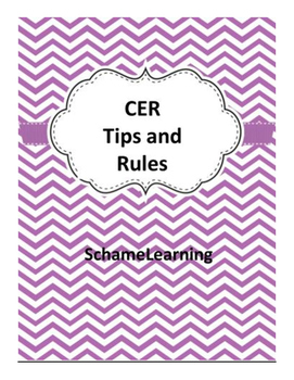CER Tips and Rules